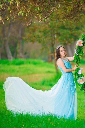 שמלה לבת מצווה להשכרה